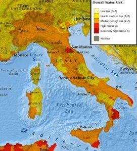 Stress idrico_Italia